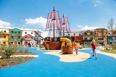 LEGOLAND Pirateninsel Hotel Spielplatz